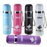 厂家批发迪士尼保温卡通水杯广告发促销礼品杯保暖不锈钢