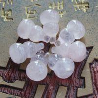 【奥斯汀】夏季清凉冰种芙蓉晶马年吉祥物葫芦吊坠 天然水晶玛瑙
