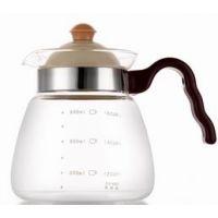 义乌咖啡壶壶 花茶壶 哪里卖养生壶玻璃壶厂家直销 可定制logo