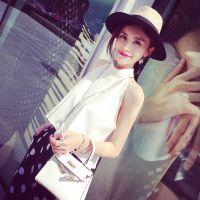 小银子2015夏季新款欧美洋气宽松清凉外穿无袖背心女上衣B5116