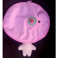可爱小孩立体造型毛绒电热水袋 双插手充电暖手袋 电暖袋厂家批发