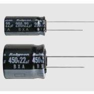 代理红宝石BXA系列电解电容器