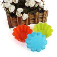 新款 烘焙工具 厨房食品用具 硅胶制品  花形蛋糕杯  DIY模具