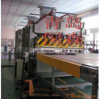 供应蜂窝板贴面压机组设备-青岛国森