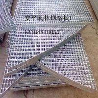 人行道格栅板,雨水篦钢格板,钢质镀锌网格板