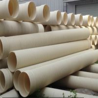 厂家现货供应PVC双壁波纹管 优质PVC双壁波纹管价格产品齐全