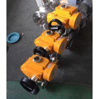 蒸汽电动三片式承插焊球阀接线坚固耐用