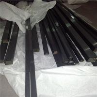 304黑钛金不锈钢方管20*20*0.7拉丝不锈钢彩色管