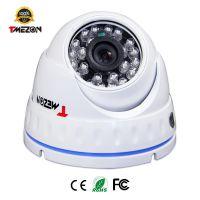 厂家直销1200线 海思芯片红外20米 远程夜视 室内半球监控摄像机