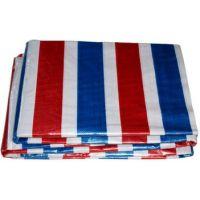 厂家直销180型彩条布苫盖/防雨/塑料篷布/货运汽车篷布/三色布
