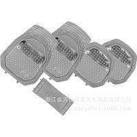 特价款通用PVC透明汽车脚垫 塑料脚垫盆式防滑车用脚垫5片