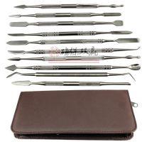蜡雕刻刀 牙科器材 口腔科 不锈钢 技工 雕蜡刀 盒装10支套装