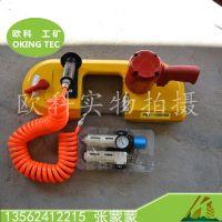供应欧科JQX-120气动带锯 切钢材气动线锯