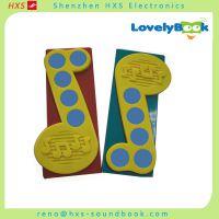 电子音乐盒/音乐书发声条 电子语音发声书尺/幼教语音书