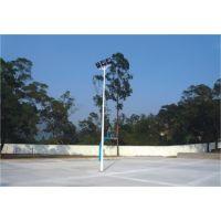 12米广场灯角度设计与安装 康腾单节灯杆批发 双节灯灯杆生产