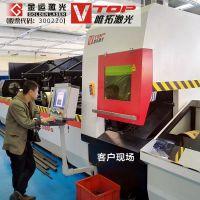 自动上下料钢管光纤激光切割机【P2060A】金运?唯拓激光设备