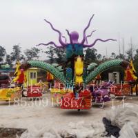 公园游乐场户外新款豪华旋转章鱼儿童游乐设备