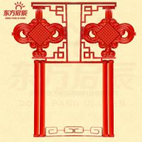 LED中国结灯/户外发光中国结灯/路灯杆中国结灯厂家直供