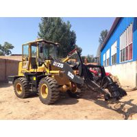 工厂直销 930装载机挖坑机 钻杆直径60*300 铲车挖坑机 两用机
