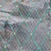 边坡绿化铁丝网 煤矿架顶支护网 动物园养殖围栏网