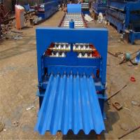 浩鑫750型压瓦机 全自动压瓦机 750型彩钢压瓦设备