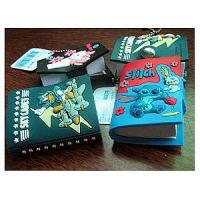 pvc软胶笔记本,橡胶笔记本,滴胶笔记本