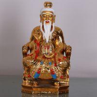 道教三清道德天尊 树脂彩绘 佛教用品道教用品神像工艺品批发包邮