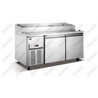 佛山西尊比萨制冷比萨柜 比萨保鲜柜 比萨冷藏柜 风冷三文治柜