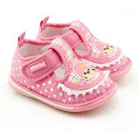 巴托春秋款童鞋叫叫鞋宝宝学步鞋防滑软底单鞋女童婴儿鞋3196批发