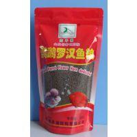 观赏鱼饲料 鹦鹉罗汉鱼粮  300克  添加天然的虾红素 批发