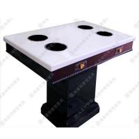 专业定制 现代中式火锅餐厅电磁炉火锅台 一人一锅火锅餐台 热卖中