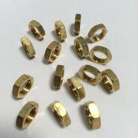 安成/圆螺母 六角铜螺帽M2/多种规格型号加工