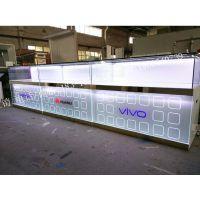 厦门供应新款VIVO三星金立手机柜台小米苹果OPPO玻璃展柜