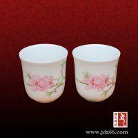 活动促销礼品茶杯,景德镇陶瓷促销礼品定做厂家