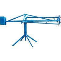 天门天旺十二米手动操作圆柱斜支腿布料机械