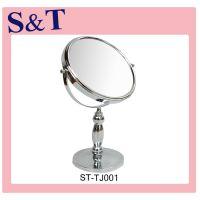 10年专业制造经验  金属柜台台式镜 高档双面镜子 企业定制镜