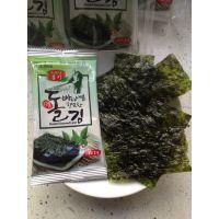 韩国海苔即食 韩美味 原味海苔16g 进口食品紫菜 30袋/件