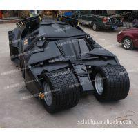 仿真蝙蝠侠汽车模型 战车模型 玻璃钢汽车广告模型