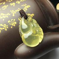 批发天然水晶饰品 黄水晶葫芦貔貅吊坠 有求必应 开运吉祥物