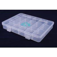 四叶草全新pp868塑料盒 18格元件盒 零件盒 零件收纳盒