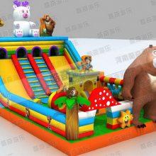 大型充气儿童蹦蹦床|河北儿童大型游乐设备