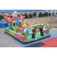 郑州卧龙提供 飞鹰计划非常受小朋友喜爱的充气城堡蹦床设备趣味设施