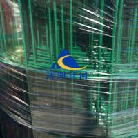 优质养殖养鸡荷兰网/浩洲1.8米高绿色铁丝防护网/园林种植高速公路网