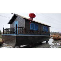 6m马尔代夫旅游观光船 欧式木船 公园景区观光木船 户外旅游船