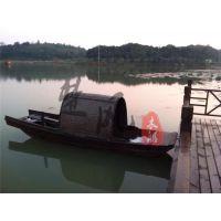 直销供应山东4m乌篷船 仿古摄影木船 欧式电动木船客船