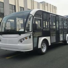 无锡14座带门电动观光车HL-14-LT|大学校园电动公交车