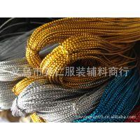 供应多规格金线 金色绳 空心金丝线