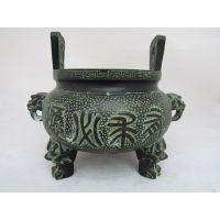 广发青铜器摆件 烧香拜佛铜香炉 阿弥陀佛香炉 熏香炉