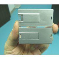 HP/惠普工厂直销金属卡片U盘LOGO银行卡礼品u盘 名片优盘定制企业