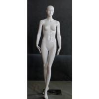 低价出售美力玻璃钢时尚款女模特道具 高光亮白抽象全身站姿女模特衣架